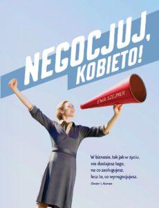 """Książka o negocjacjach """"Negocjuj, kobieto!"""""""
