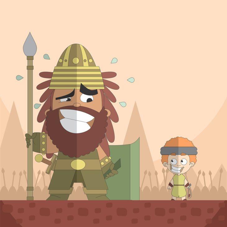 Walka Dawida z Goliatem