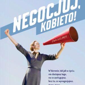 negocjuj kobieto książka